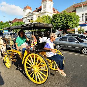 :: Candid Traditional Transportation (Dokar) :: by Putu Ekak - Transportation Other