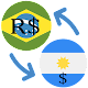 Brazil Real Argentine peso / BRL to ARS Converter icon