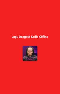 Lagu Dangdut Sodiq Offline Screenshot