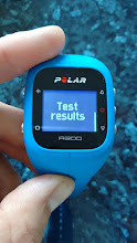 Photo: Result of Fitness Test - more information here http://www.heartratemonitor.co.uk/polar-a300-review/#fitness-test