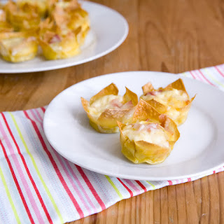 Breakfast Won Ton Cups