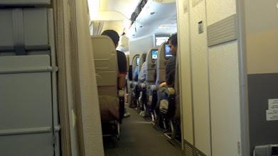 Photo: On the plane