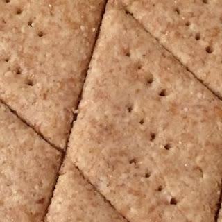 Low-Carb Almond Garlic Crackers.