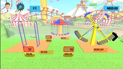 idle themepark & rollercoaster tycoon screenshot 1