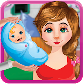 Mommy Newborn Care Game: Baby Caring