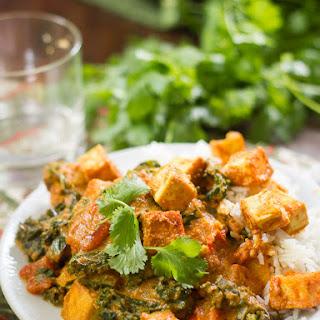 Creamy Cashew Curry with Tofu & Kale Recipe