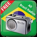 All Brazil FM Radios Free icon