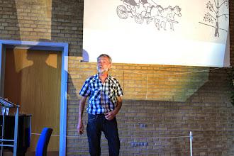 Photo: Werner Fischer-Nielsen afsluttede dagen med et foredrag om Astrid Lindgren og kristendommen.