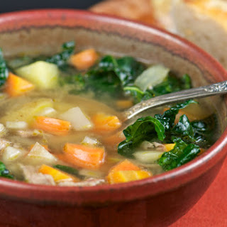 Rachael Ray's Simple Ribollita Soup.