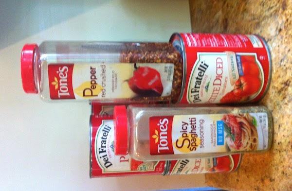 Stir in Italian Seasoning and chili pepper flakes.