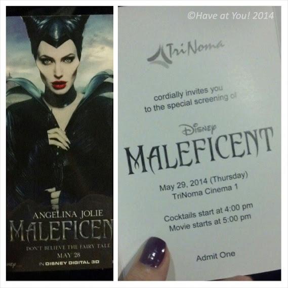 Maleficent ticket