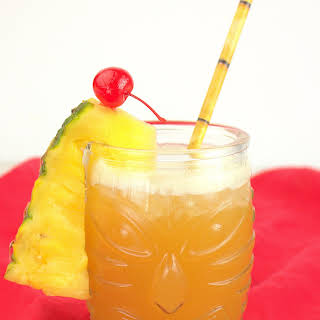 Pineapple Mai Tai.