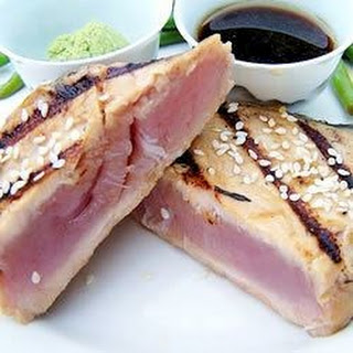 Sesame Seared Tuna.