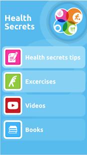 Health Secrets - náhled