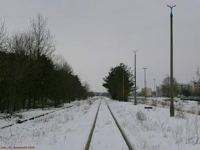 Photo: Torowisko (widok w stronę Torunia Wschodniego) {Toruń Północny; 2013-04-02}