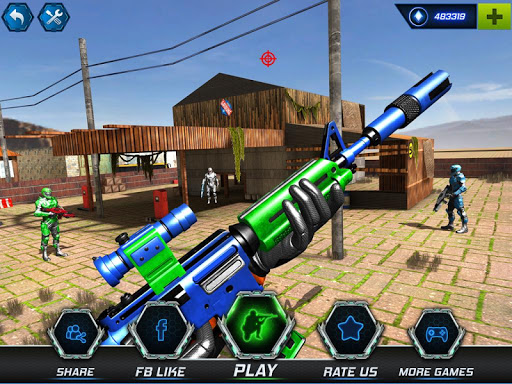 FPS Robot Shooter Strike: Anti-Terrorist Shooting apkpoly screenshots 17