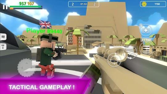 Block Gun MOD APK V2.2 (GODMODE/UNLIMITED AMMO,COINS,GOLD/INSTANT KILL/SUPER SPEED) 2