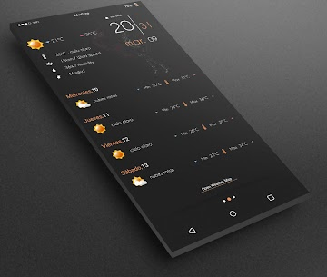 Gray Bloom XIU for Kustom/klwp 9.5 Latest APK Free Download 3