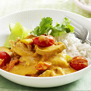 Chicken and Apple Curry.