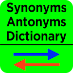 Synonyms Antonyms Dictionary Icon