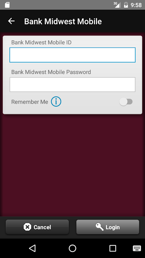 Bank Midwest Mobile- screenshot