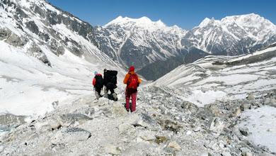 Photo: Der Abstieg beginnt