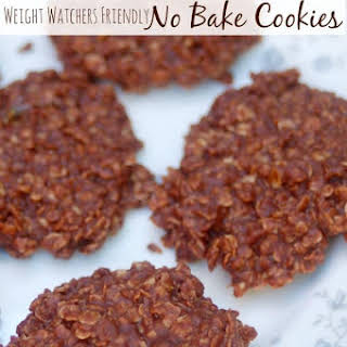 No-Bake Chocolate Peanut Butter Oatmeal Cookies.