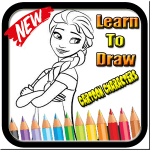 Tải Learn to draw cartoon characters APK