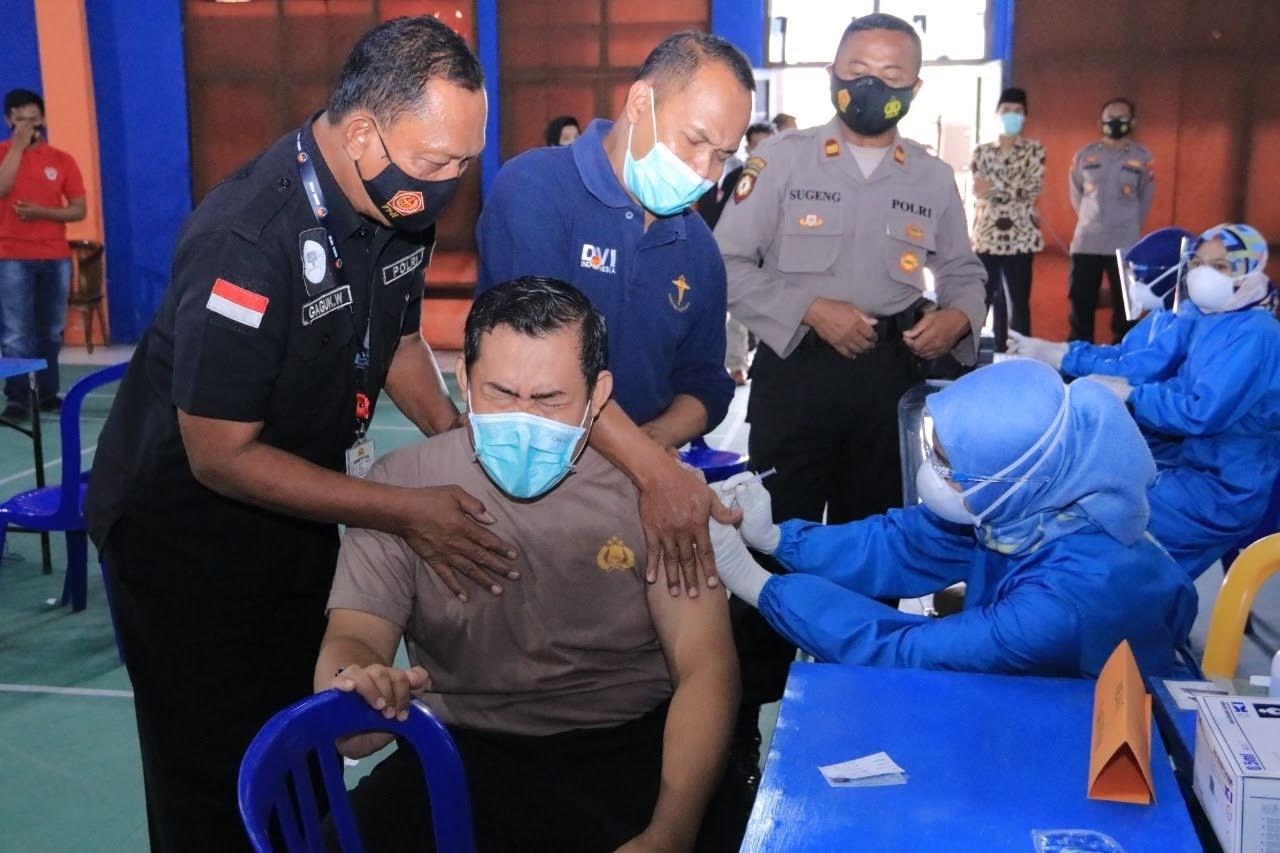 Vakainasi Tahap 2 Polri , TNI Dan Pelayanan Publik Kab. Madiun