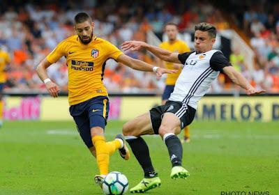 Carrasco et l'Atlético muets à Valence