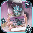 Graffiti Skull Keyboard Theme icon