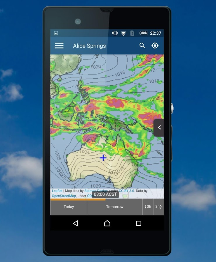 meteoblue- screenshot