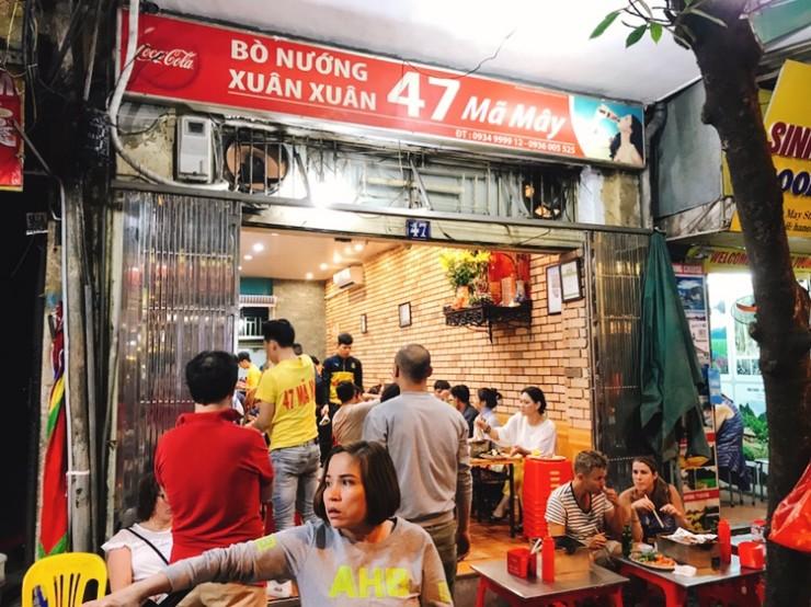 【世界のB級グルメ】世界中探してもここだけでしか味わえないベトナム・ハノイ流の焼き肉とは? / ハノイの吞ん兵衛街にある「スアン スアン(Xuan Xuan)」