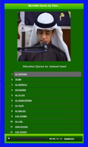 Murotal Al Quran Muhammad Tahah Al Junayd Terbaru for PC