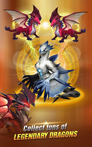 Dragon Epic - Idle & Merge - Arcade shooting game screenshots 13