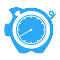 HoursTracker: Time tracking for hourly work icon