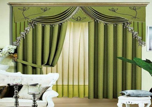 カーテンのデザインのアイデア