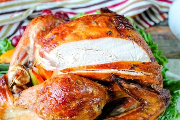 Juicy Turkey Thanks To A Turkey Brine.