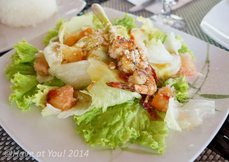 shrimp pomelo salad