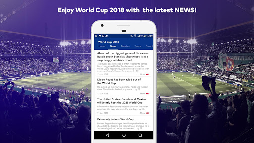 World Cup 2018 in Russia - Live Score, Match, News 6.0 screenshots 2