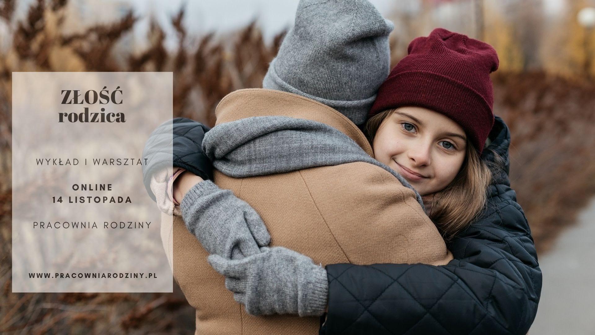 Złość rodzica. Jak poradzić sobie z własną złością w relacji z dzieckiem – wykład i warsztat online