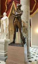 Photo: John Sevier, 1745-1815. Donated to the National Statuary Hall Collection by Tennessee in 1931 - http://www.aoc.gov/capitol-hill/national-statuary-hall-collection/john-sevier