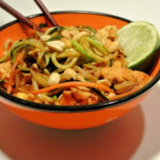 Chicken Pad Thai with Zoodles.