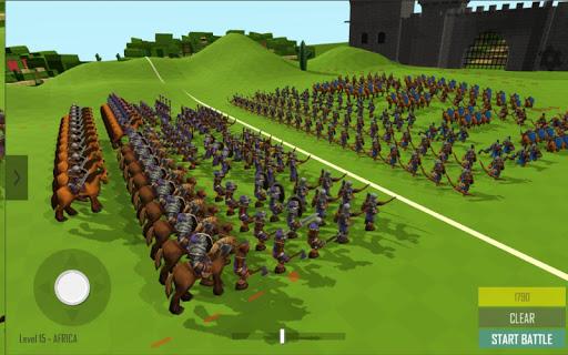 Medieval Battle Simulator: Sandbox Strategy Game 1.5 screenshots 2