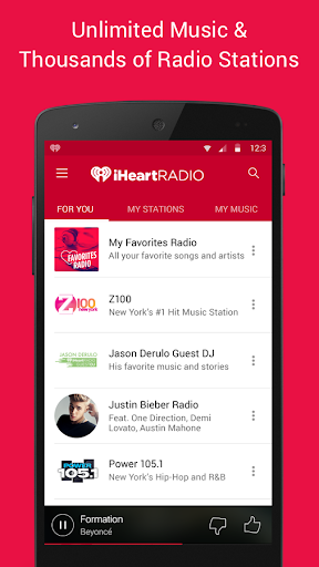 iHeartRadio Free Music & Radio screenshot 1