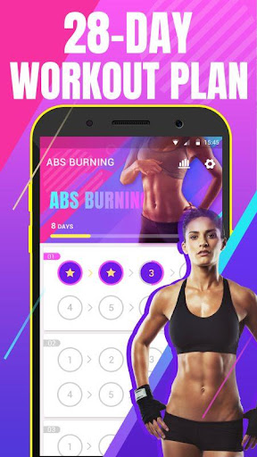 Abs workout - fat burning at home 1.2.0 screenshots 1