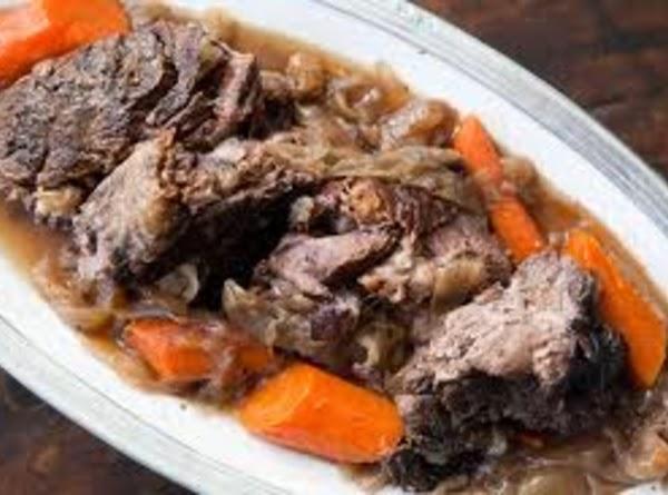 Sunday Pot Roast With Gravy (for Diabetics) Recipe