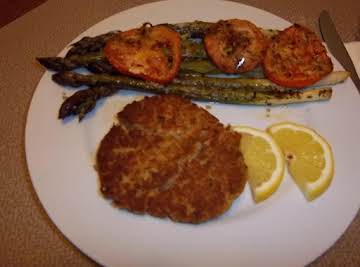 Lo-Carb Salmon Patties