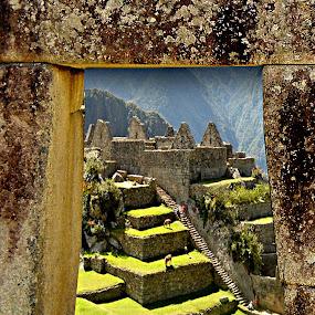 Macchu Picchu by Jime Fernandez - Travel Locations Landmarks