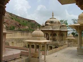 Photo: Jaipur - Royal Gaitor - grobowce rodziny królewskiej
